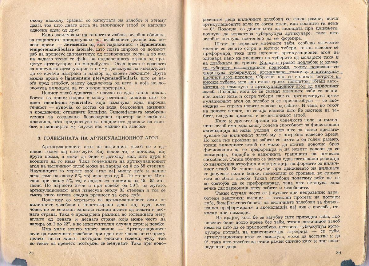 Articulatio Temporomandibularis